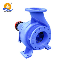 Single stage end suction centrifugal sanitary pump