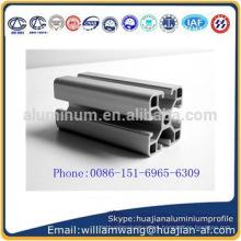 40 * 40 40 * 80 80 * 80mm Perfil de aluminio del precio bajo de China