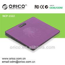 Boite de refroidissement pour ordinateur portable de 14 pouces, refroidisseur de portables avec port usb
