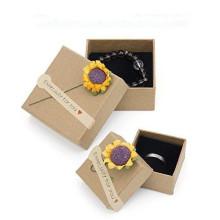 Handmade Kraft Paper Jewelry Packaging Gift Box