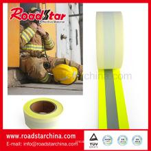 Fornecedor profissional de tecido resistente à chama reflexivo de cor fluorescente