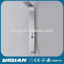 2014 caliente alta calidad euro diseño moderno con LED luz panel de ducha de acero inoxidable
