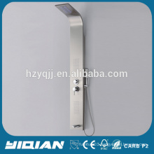 2014 Hot Design Euro High Quality Modern With LED Light Stainless Steel Shower Panel