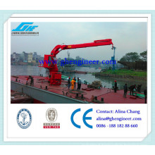 Knuckle Boom Hydraulic Marine Crane Ship Deck Crane