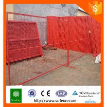 Clôture provisoire du Canada, clôture temporaire cloture extérieure