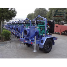 Mixed Flow Water /Trailer/ Centrifuga/L Flood/ Multistage/Diesel Pump (HW-T)
