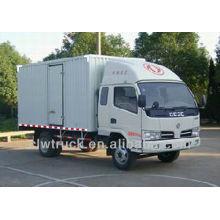 4 Tons Venta caliente Dongfeng 4x2 mini caja de camiones Van