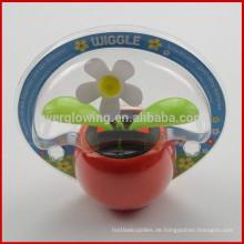 Apple Wiggle Solar Blume Solar-Glae Batterien