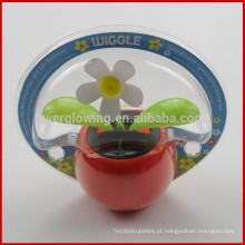 Maçã wiggle flor solar solarblume-gazn batterien