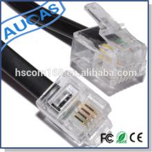 China atacado / atacado alibaba / melhor preço rj11 conector preço adaptador sem fio keystone jack