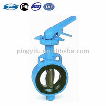 Wafer center line cast iron/ductile iron PN16 butterfly valve D71X-16