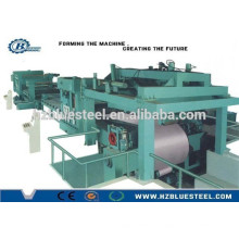 Hot Selling Full Automatic Metal Coil Sheet Slitting Line With Recoiler , Coil Sheet Sliver Length Cutting Machine