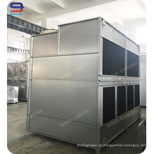 Torre de resfriamento HVAC de fluxo cruzado, Torre de resfriamento fechada
