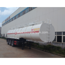 3 axle 45000 liters insulation tank semi-trailer
