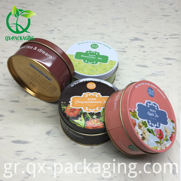 round packaging box for tea