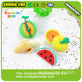 3D Food Shaped Blister Card Opakowanie Gumka