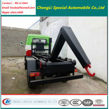 Mini 2000liters Motor Hook Lift Garbage Truck
