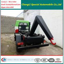 Mini 2000liters Motor Hook Lift Garbage Truck