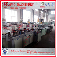 WPC composto material fabricante WPC PVC Board Manufacturing Machine