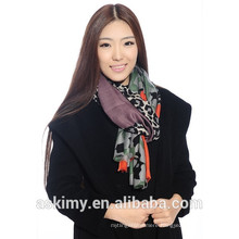 2015 latest new design quality infinity scarf custom print