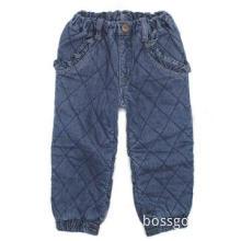 Kids jeans denim overalls winter pants