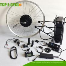 Chinesische bürstenlose Gleichstrommotorausrüstung der Produktion 48v 1000w Fahrrad