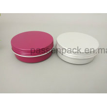 2oz Colored Alumínio Jar para Cosmetic Wax De Ningbo