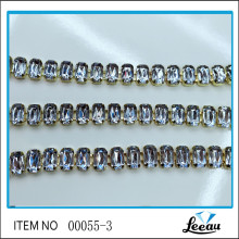 Atacado Stock Claw Rhinestone Cup Chain
