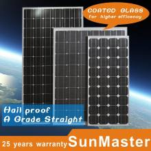 170W Monocrystalline Silicon Solar Panel Modules