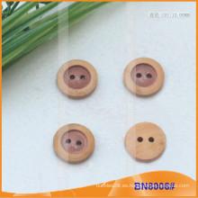 Botones de madera natural para la prenda BN8006