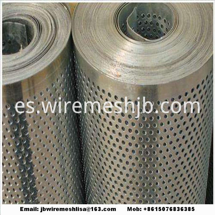 Galvanized Perforated Metal Mesh