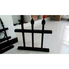 Valla superior de lanza / Punta de lanza de hierro forjado Valla de seguridad de empalizada de acero