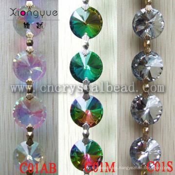 Mayorista de moda caliente cadenas de cuentas de cristal