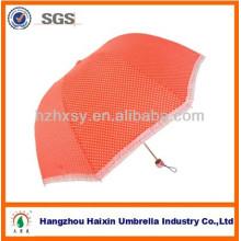 Forma de cúpula de princesa bonita seta paraguas