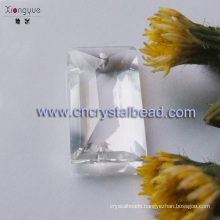 Clear Rectangular High Quality Crystal Beads In Bulk