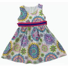 Vestido de moda en verano para la ropa de niños de venta caliente (SQD-122)