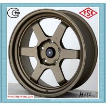 Nouveau design durable prix compétitif voiture alliage roues 14 pouces de finitions personnalisées