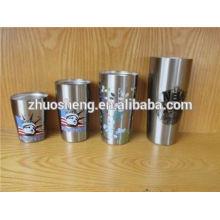 eigenes Logo drucken hochwertige Großhandel Kunststoff Mini Kunststoff Dessert cups