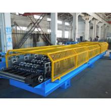 Folha de aço galvanizada 0.7mm do telhado da emenda da posição 0.7-1.2 lamina a formação da máquina