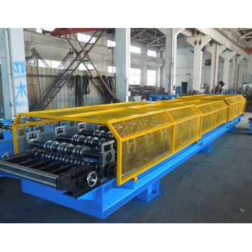0.7-1.2mm Galvanized Steel Standing Seam Roof Sheet Cold Roll Forming Machine