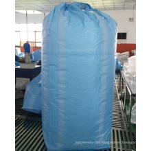 fibc bag supplier 100% new fabric jumbo bag bulk storage bag 2 ton recyclable (for sugar,flood,rice,cement,sand,stone,etc) ZR-73