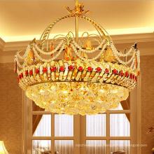Lámpara colgante de cristal lámpara de lujo pequeña lámpara colgante de cristal luces colgantes de alta calidad