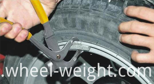 use wheel balance weight