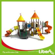 Chine Le plus récent design Plastic Jungle Gym / Outdoor Playground pour les écoles primaires avec Swing Set