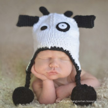 El sombrero lindo de la gorrita tejida de los niños de la vaca (XT-CB003)