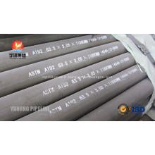 ASTM A192 chaudière sans soudure Tube