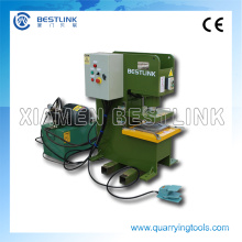 China Buena calidad Máquina automática de la prensa de corte de la piedra de pavimentación