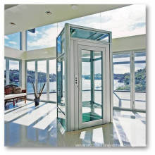 OTSE elevador pequena casa para casas, 250kg 3 ou 4 pessoa sala de máquinas pequena casa menos elevador elevador