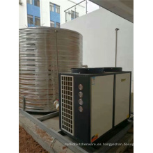 Calentador de agua de bomba de calor todo en uno inoxidable