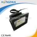 Movimiento humano caliente 10w sensor solar llevó la luz de inundación IP65 con la vida útil larga